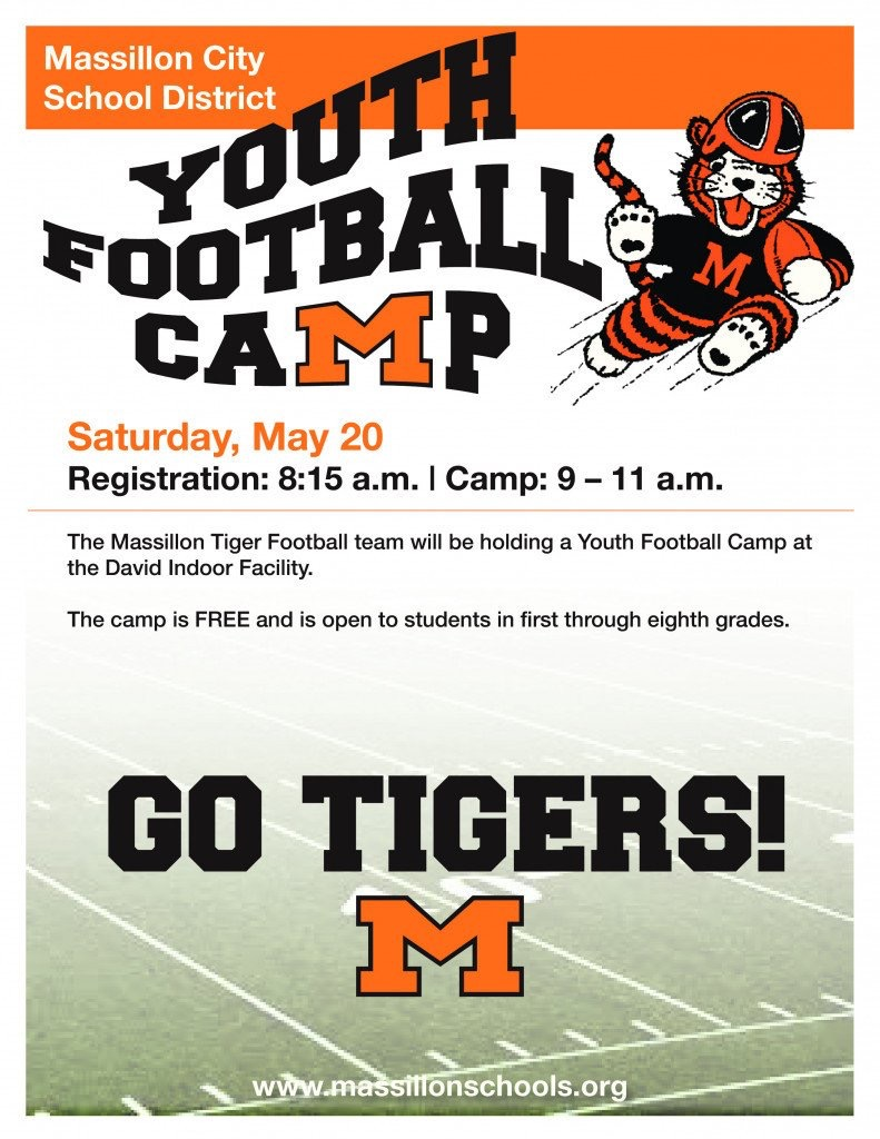 1be3cc33 Youth Football Camp - MassillonTigers.com