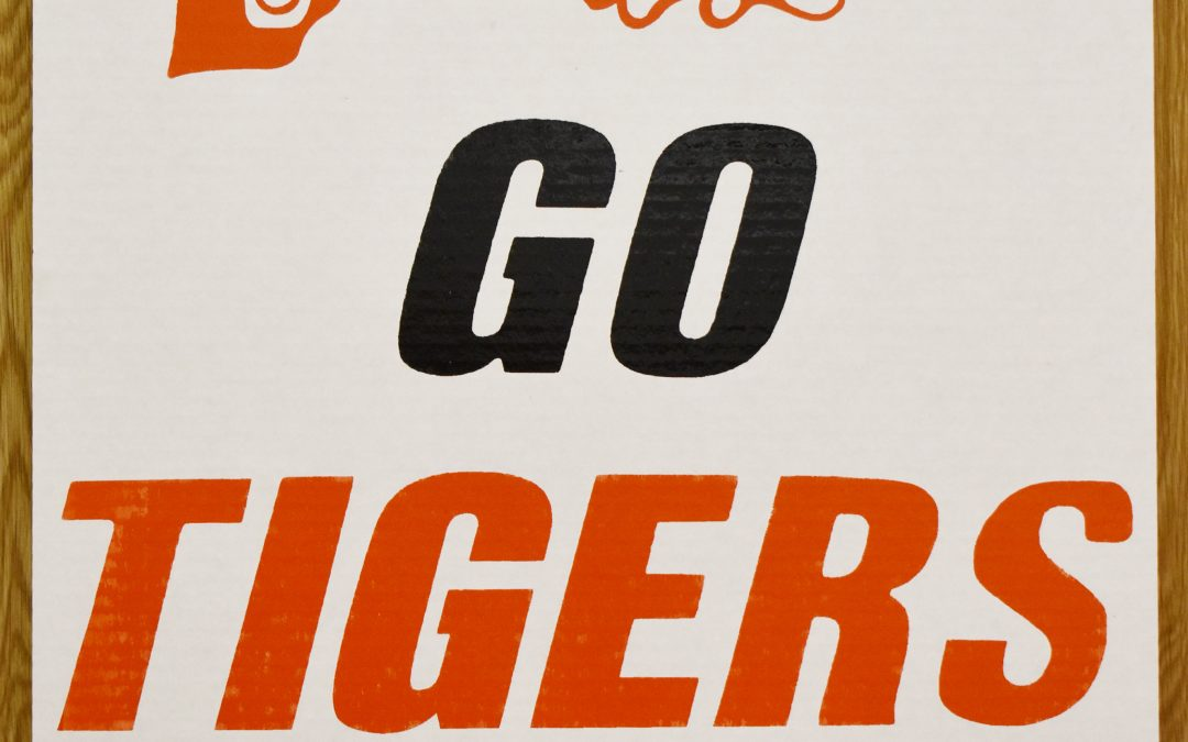 Tiger Signs Are Ready for the 2018 Season
